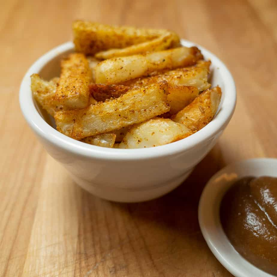 Indian masala fries