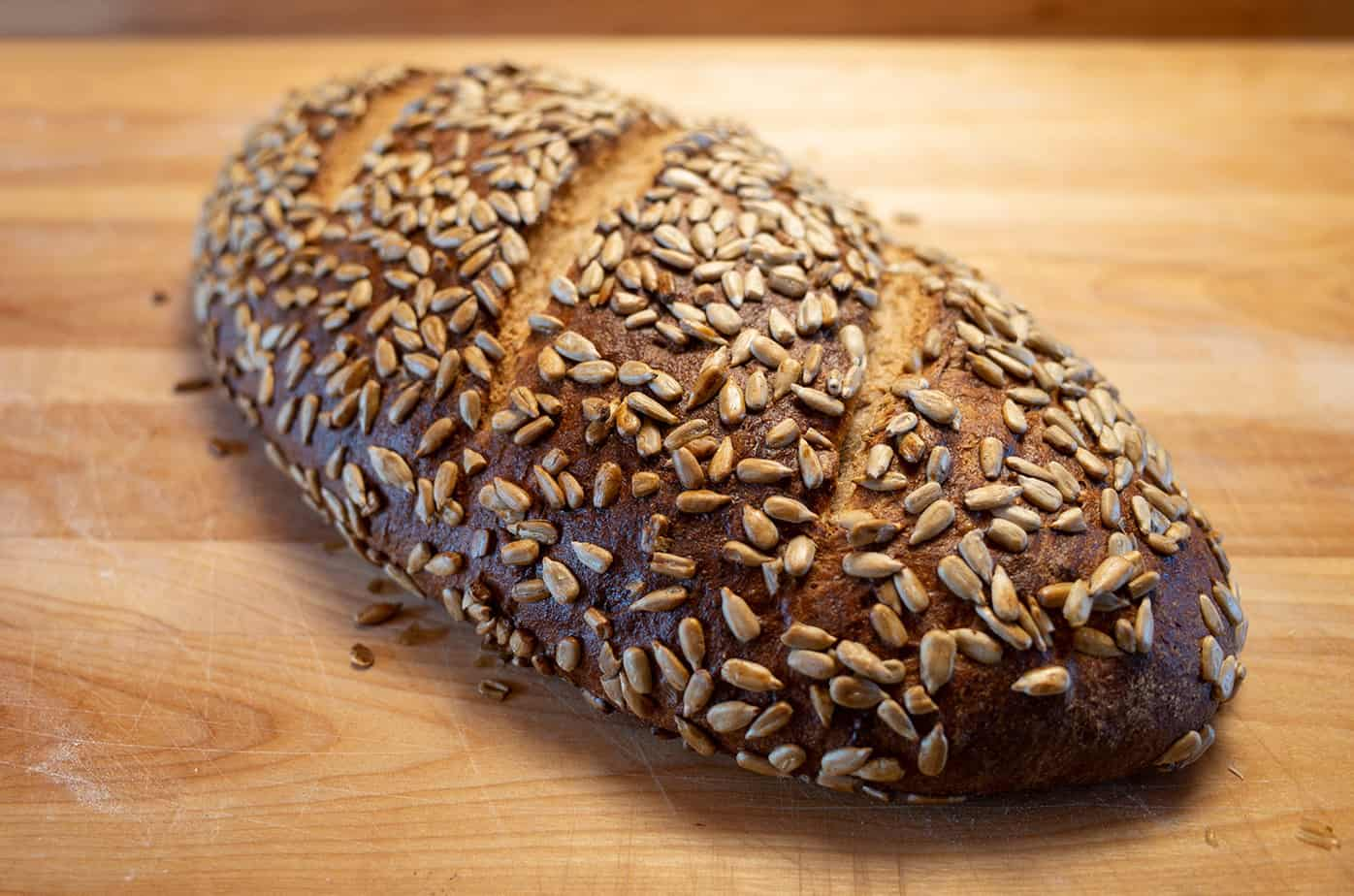 bread with sunflower seeds