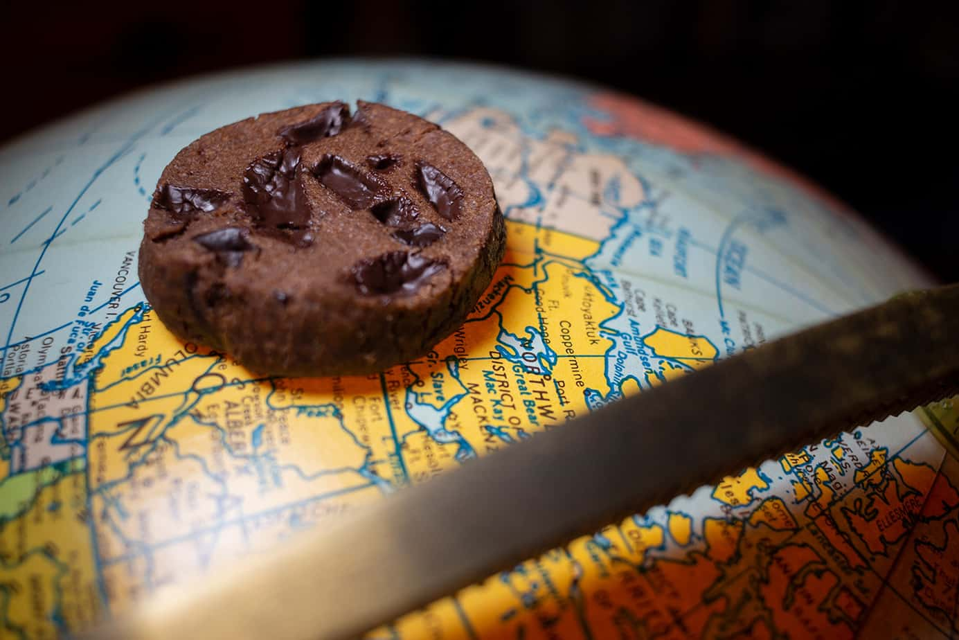 world peace chocolate cookies